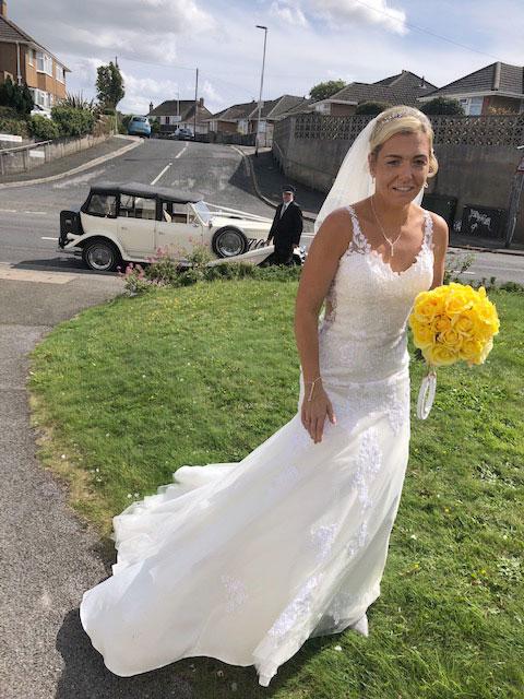 Brides bouquet Plymouth